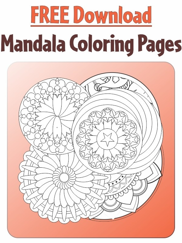 Free Downloadable Mandala Coloring Pages Promotions Prissy